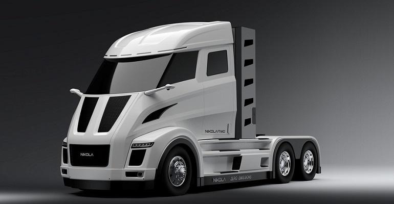 Компания Nikola разрабатывает 1000-сильный электрический фургон